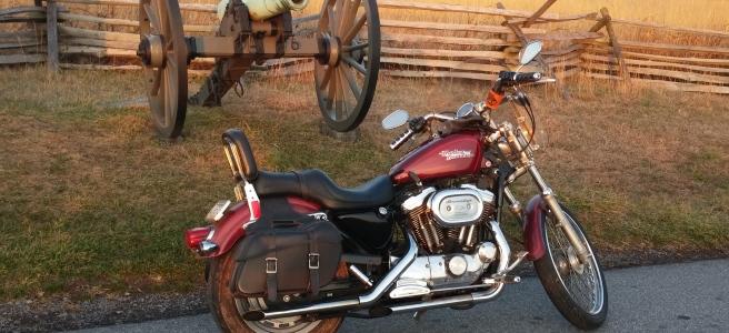 Mild December ride in Gettysburg
