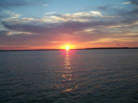 fagers island sunset 2012